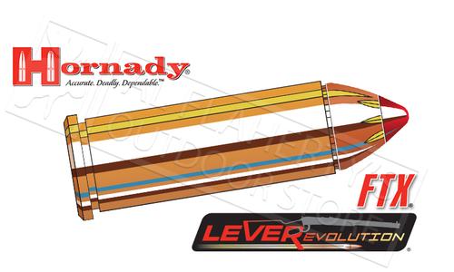Hornady 44 Rem Mag LEVERevolution, FTX 225 Grain Box of 20 #92782