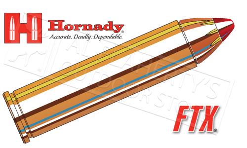 Hornady 460S&W, Custom FTX, 200 Grain Polymer-Tipped HP 20 Round Box #9152