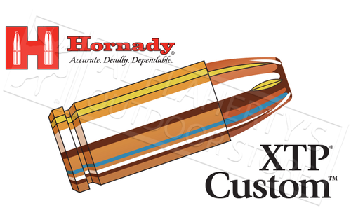Hornady 9mm Custom XTP, JHP 124 Grain Box of 25 #90242