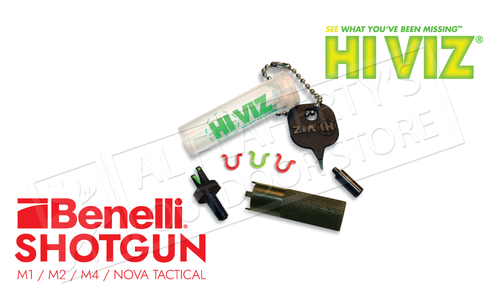 HiViz Front Sight for Benelli M1-M4 & Nova Tactical Series Shotguns #M12010
