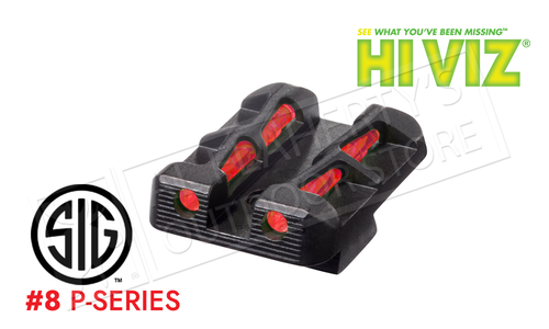HiViz Litewave Interchangeable Rear Sight for SIG P-Series Pistols #SGLW18