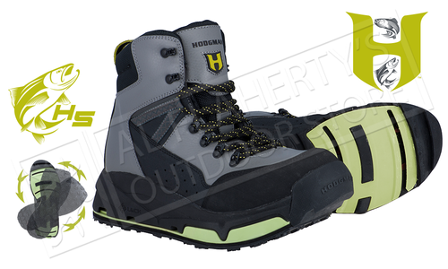 Hodgman H5 H-Lock Wade Boot with WadeTech & Felt Soles, Various Sizes #H5WBCF