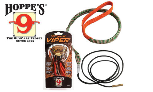 Hoppe's BoreSnake Viper, Rifle - 6mm, .240, .243, .244 Caliber #24012V