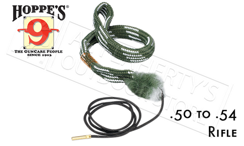Hoppe's Boresnake, Rifle - .50 to .54 Caliber #24020