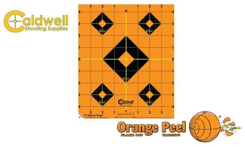 """Caldwell Orange Peel Sight-In Target, 8"""" Pack of 5 #522357 CALDWELL ORANGE PEEL SIGHT-IN TARGET, 8"""" PACK OF 5 #522357"""