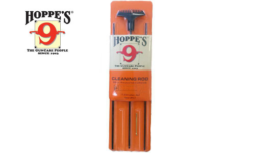 Hoppe's Cleaning Rod for Rifles, 3-Piece - 17 to 204 Caliber #3PS17