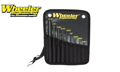 WHEELER ROLL PUNCH SET, 9 PIECE #204513