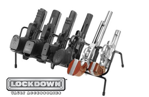 LOCKDOWN 6 GUN HANDGUN RACK #222210