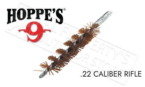 Hoppe's Phosphor Bronze Brush Rod-End, .22 Caliber Rifle #1303P