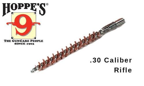 Hoppe's Phosphor Bronze Brush Rod-End, .30 Caliber Rifle #1305P