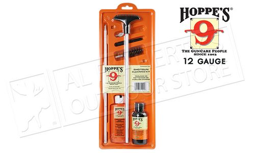 Hoppe's Shotgun Cleaning Kit with 3-Piece Rod #SG012