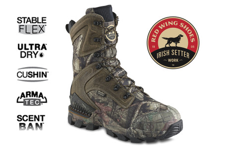 Irish Setter Deer Tracker Boot, 800g PrimaLoft Gold Eco Insulation #4838