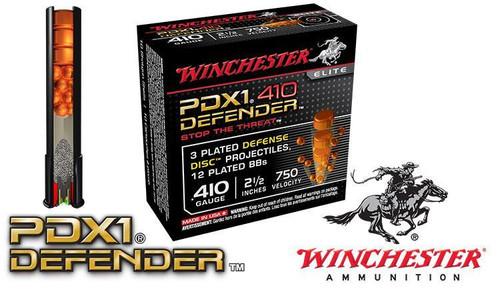 "Winchester PDX1 Defender Shells .410 Gauge 2-1/2"", Box of 10"