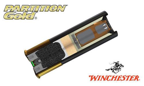 "Winchester Partition Gold Sabot Slugs 12 Gauge 2-3/4"", 385 Grain, 1725 fps, Box of 5"