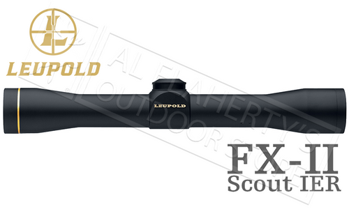 Leupold FX-II Scout IER Scope 2.5x28mm #58810
