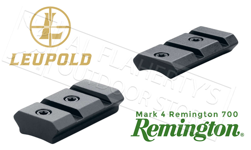 Leupold Mark 4 Remington 700 2-Piece Bases, 8-40 Adaptable #59230