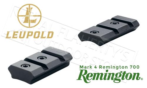 Leupold Mark 4 Remington 700 2-Piece Bases, 8-40 Adaptable #59230