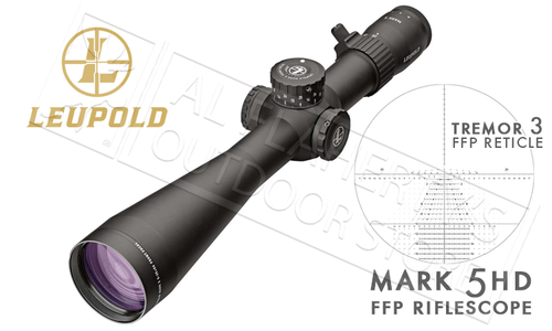 Leupold Mark 5HD FFP Scope 5-25x56mm with Tremor 3 Reticle #171775