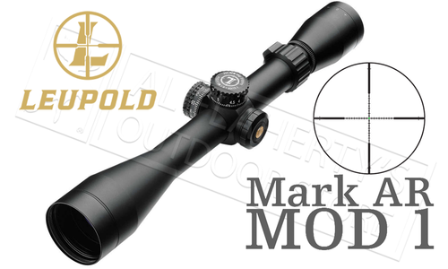 Leupold Mark AR MOD 1 Rifle Scope 3-9x40mm with Firedot-G TMR Reticle #115370