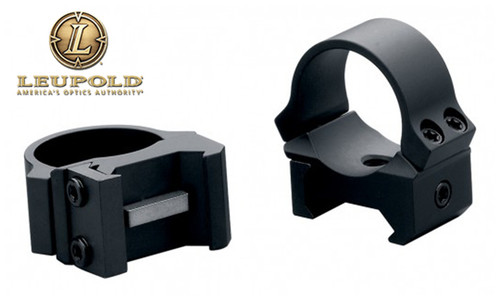 Leupold PRW2 Scope Rings - 1 Inch Medium Height Blued #174081