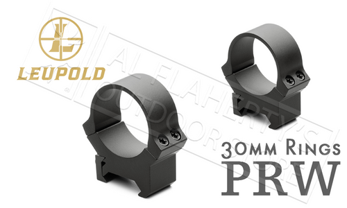 Leupold PRW2 Scope Rings - 30mm Medium Height Blued #174084