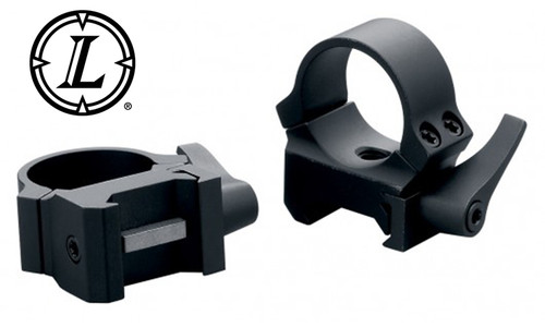 Leupold QRW2 Scope Rings - 1 Inch Low, Matte Black #174065