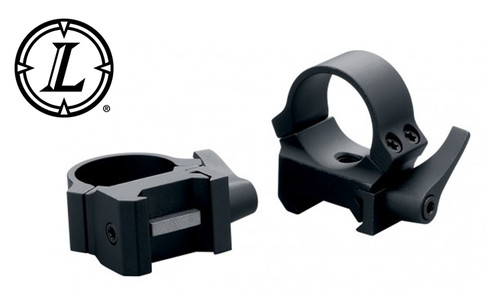 Leupold QRW2 Scope Rings - 30mm Medium Matte Black #49863