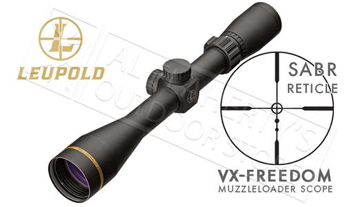 Leupold VX-Freedom Muzzleloader and Shotgun Scope 3-9x40mm with Sabot Ballistics Reticle #174184