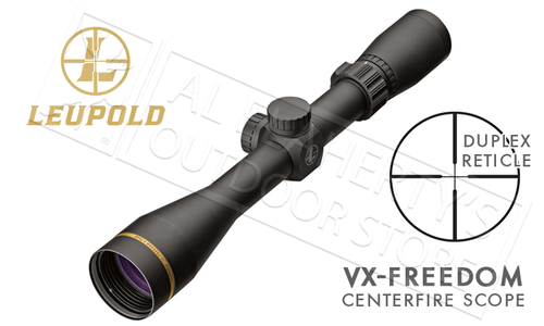 Leupold VX-Freedom Scope 3-9x40mm with Duplex Reticle #174180