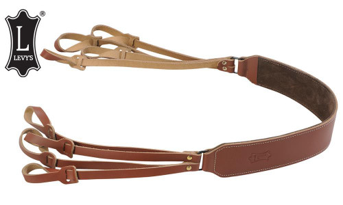 Levy's Leathers Bird Carrier, Walnut Brown #SN131-WAL