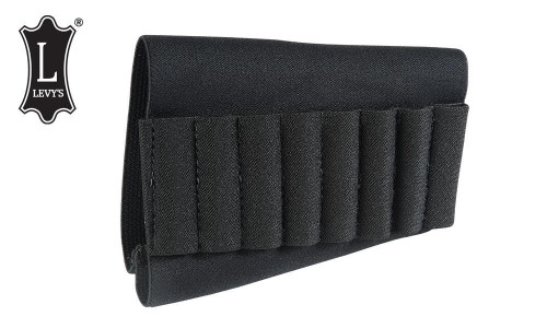Levy's Leathers Elastic Rifle Cartridge Carrier #S44-BLK