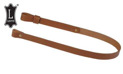"""Levy's Leathers Natural Oil-Tan Rifle Sling, 33"""" - 41"""" #S7-NAT"""
