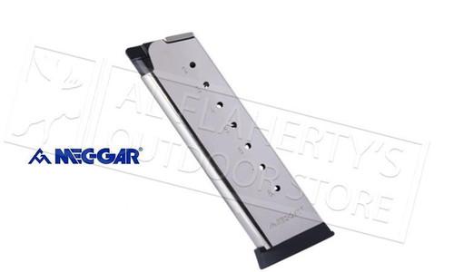 MEC-GAR 1911 45ACP 8-Round Magazine, Stainless Steel #MGC4508NPF