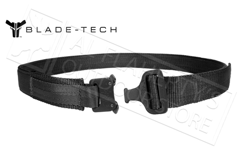 Blade-Tech Instructors Belt with Cobra Buckle, Various Sizes #APPX0105CBRABTBLK