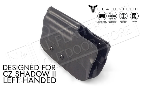 Blade-Tech Holster Classic OWB for CZ Shadow II, Left Handed with TekLok and ASR #HOLX000853181656