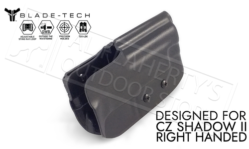 Blade-Tech Holster Classic OWB for CZ Shadow II, Right Handed with TekLok and ASR #HOLX000821357990