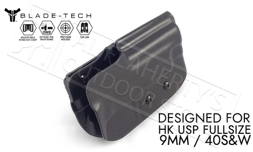 Blade-Tech Holster Classic OWB for HK USP 9mm and 40SW with TekLok and ASR #HOLX000864425297