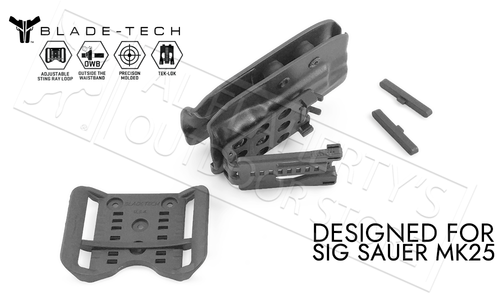 Blade-Tech Holster Classic OWB for SIG MK25 Pistols with TekLok and ASR #HOLX000827316612