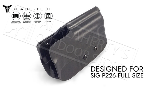 Blade-Tech Holster Classic OWB for SIG P226 with TekLok and ASR #HOLX000832397025