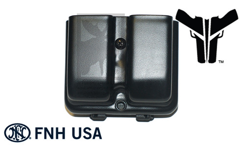 Blade-Tech Original Double Mag Pouch for FN Herstal FNS9 with Tek-Lok Mount #AMMX002430658589
