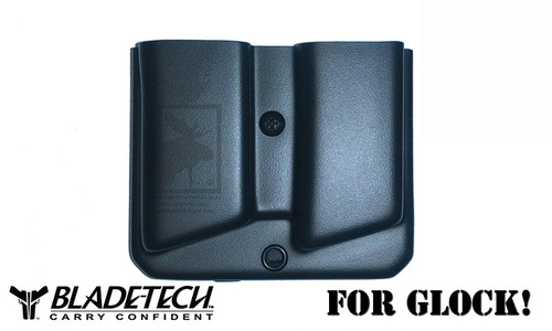 Blade-Tech Original Double Mag Pouch for Glock 10/45 with Tek-Lok Mount #AMMX002406081136