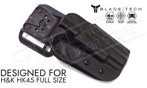 Blade-Tech Original Holster for HK HK45 Full Sized, Right-Handed D/OS with ASR Mount #HOLX000834466907