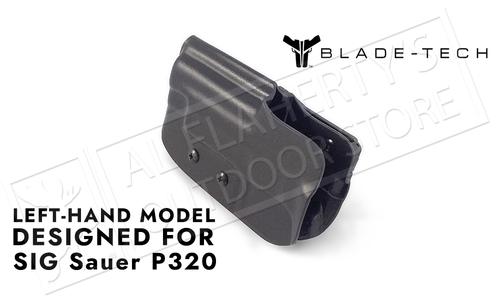 Blade-Tech Original Holster for SIG P320, Left-Handed with ASR and Tek-Lok Mounts #HOLX000842984774