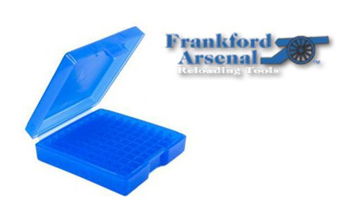 FRANKFORD ARSENAL 501 AMMO BOX FOR .380 & 9MM AMMUNITION, 50 ROUNDS #114596