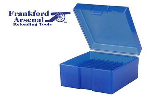 FRANKFORD ARSENAL 505 AMMO BOX FOR .222 & .223 AMMUNITION, 50 ROUNDS #690047