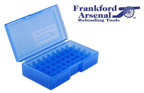 FRANKFORD ARSENAL 508 AMMO BOX FOR 10MM & .45ACP AMMUNITION, 50 ROUNDS #718498