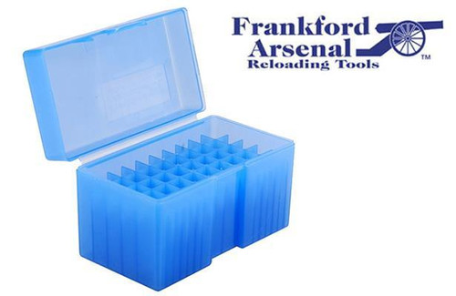 FRANKFORD ARSENAL 510 AMMO BOX FOR .270 & .30-06 AMMUNITION, 50 ROUNDS #513329