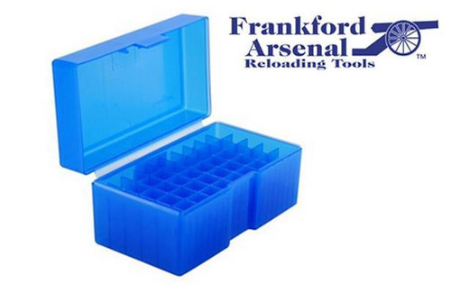FRANKFORD ARSENAL 515 AMMO BOX FOR WSM & WSSM AMMUNITION, 50 ROUNDS #296112