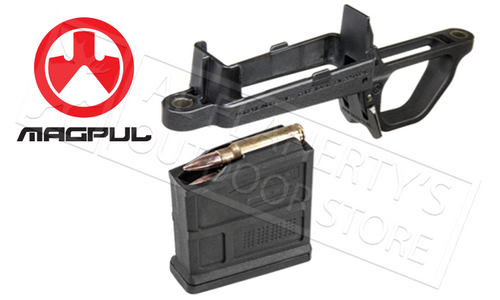 MAGPUL BOLT ACTION MAGAZINE WELL - REMINGTON HUNTER 700 STOCK #MAG497-BLK