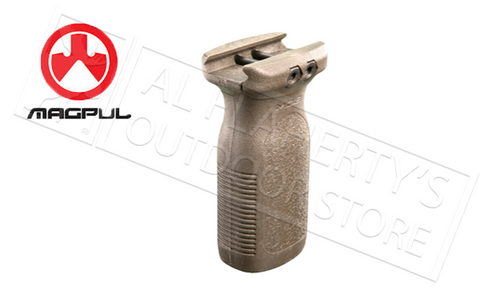 MAGPUL RVG RAIL VERTICAL GRIP FLAT DARK EARTH #MAG412-FDE